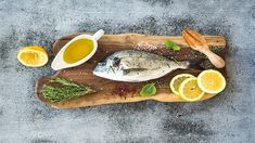 LEMON AND HERB BRAAIED FISH - The smoky aroma of fresh fish on the braai is simply irresistible! Try out this delicious recipe for your family this summer! South African Recipes, Ethnic Recipes, Cooking Classes, Avocado Toast, Seafood, Chips, Lemon, Herbs, Yummy Food