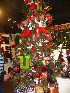 sports christmas decorations