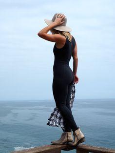 4888ef79b774 Shama Jade Classic Black Jumpsuit Black Jumpsuit