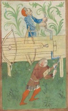 Kriegstechnik (Bilderhandschrift) Oberrhein · um 1420-1440 Ms. Rh. hist. 33b  Folio 167v