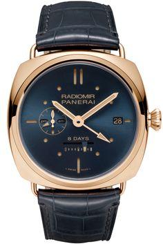 Radiomir 8 Days GMT Oro Rosso - 45mm PAM00538 - Collection Radiomir - Officine Panerai Watches