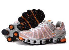 nike+shox+women | Nike Shox TL3 Womens Silver Orange