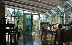 Sunblok shades for solariums and sunrooms