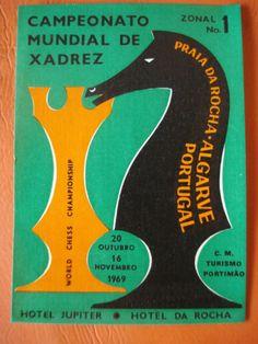 1969-World-Chess-Championship-ZONAL-1-Tournament-Portugal-mini-pocket-poster