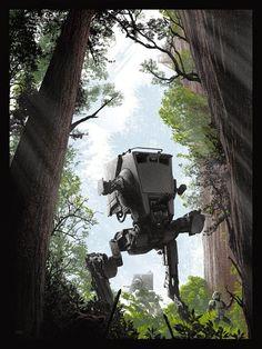 The Forest Sentries (Star Wars) - JC Richard. | eBay!