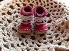 1/6 桃紅色靴子 1/6 peach boot