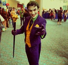 comiccon The Joker And Harley - Google Search