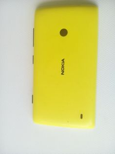 NOKIA MOBILE 530 PHONE  CASE COVER YELLOW CAN  COLLECT AVOID POSTAGE COST