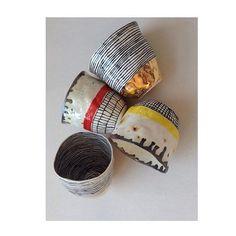 Tumblers! #porcelain #handmade #brooklyn #fall #bottomsup