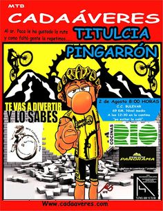 Mtb Cadaáveres - Bike : Ruta al Cerro Pingarrón.