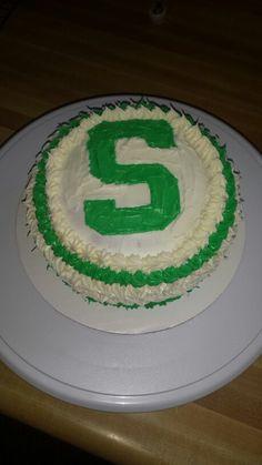 29 Best Msu Spartans Cakes Images Msu Spartans Grad