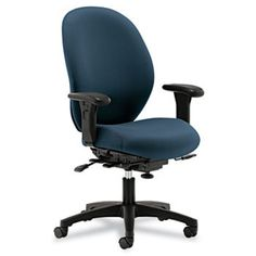 Hon Unanimous Series High-Performance Mid-Back Task Chair, Black