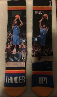 6f45c44b51c Stance Socks Russell Westbrook   Kevin Durant NBA OKC