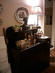 Bar Created From An Inherited Dry Sink