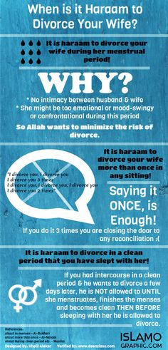 When is it Haraam do Divorce/Talaq your Wife? Quite a sensitive topic but this is surely necessary. I think about of Muslim Husbands do not know this. Shaykh Bilal Ismail helped us put this. Islam Marriage, Marriage Advice, Love And Marriage, Learn Quran, Learn Islam, Islamic Teachings, Islamic Quotes, Prophet Quotes, Hadith Of The Day