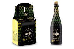 La Leffe Royale Crystal en pack de 4x33c et en bouteille 75cl #biere #beer #gastronomie #gastronomy