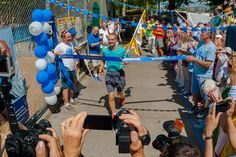 New Record in World's Longest Certified Footrace. After more than 40 days of running, Ashprihanal Aalto of Finland breaks the event record at the Self-Transcendence 3,100 Mile Race by more than 23 hours. | Runner's World