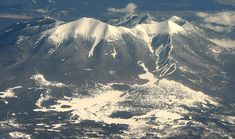Humphreys Peak is the highest mountain in Arizona, rising over 12,637 ft.