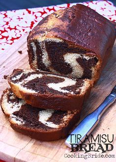 Tiramisu Bread - Can't wait to try this one!!!