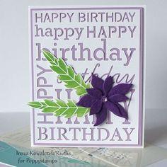 Blog Blitz Poppystamps - card from Irena