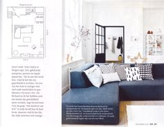 Danca model Cube in living & style magazine: '101 woonideeen'