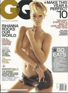 GQ magazine Rihanna Derrick Rose Paul Walker William Shatner Best resaurants