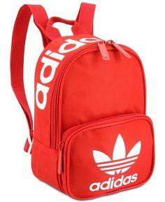 adidas Originals Santiago Mini Backpack - S Cute Mini Backpacks, Trendy Backpacks, School Backpacks, Adidas Backpack, Backpack Purse, Mochila Adidas, Backpack Reviews, Backpack Online, Jeans And Sneakers