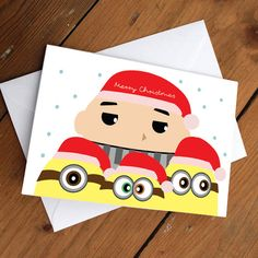 Pk of 6 Despicable me family Xmas Package by CherryOnTopDsgns