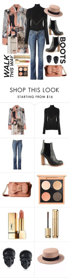 """""""Chelsea Boots"""" by loves-elephants ❤ liked on Polyvore featuring Carven, Givenchy, Hudson Jeans, Chloé, Vivienne Westwood, MAC Cosmetics, Yves Saint Laurent, Guerlain and Tarina Tarantino"""