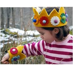 What little girl or boy wouldn't love to have their own crown?