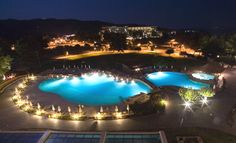 The stunning Ideales swimming pool at Porto Carras in Chalkidiki.