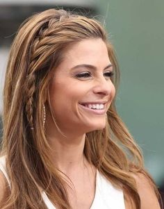 Maria Menounos' Simple Side Braid - 101 Braid Ideas That Will Save Your Bad Hair Day (Photos)