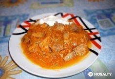 Húsos káposzta   NOSALTY Thai Red Curry, Ale, Chicken, Meat, Ethnic Recipes, Food, Facebook, Ale Beer, Ales