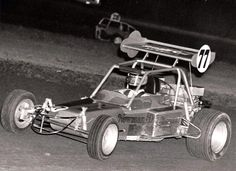Doug Dreager in an early Newman- Dreager race car. He raced at the Pikes Peak Hill Climb, Ascot Speedway and tracks other track.
