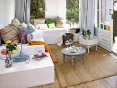 Una casa que mezcla elementos vintage y reciclados