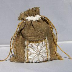 Snowflake gift bag by Mafana on Etsy