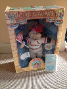 Cabbage Patch Kids All Stars St. Louis Cardinals Doll