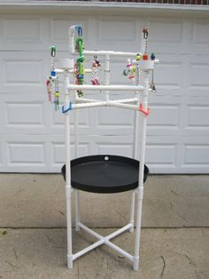 Play Stand - PVC Pipe