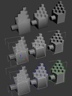 A short explanation about custom vertex normals (tutorial) - Polycount Forum
