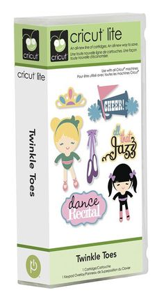 Cricut® Lite Twinkle Toes Cartridge