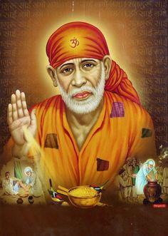 80 Best Sai Baba Images In 2020 Sai Baba Om Sai Ram