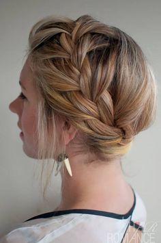 French Braids, Braided Hairstyles Tutorials