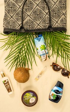 We'll admit it. Renuzit is a little coco-nutty over these summer travel essentials, especially our Renuzit Exotic Escapes scent in Tahitian Breeze.