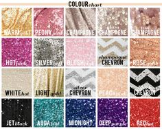 New CHOOSE YOUR SIZE Rose gold sequin by SparklePonyShop on Etsy