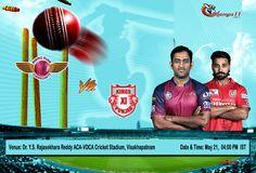 IPL 2016: Rising Pune Supergiants Vs Kings XI Punjab  #IPL #VIVOIPL #RPSvKXIP #KXIPvRPS
