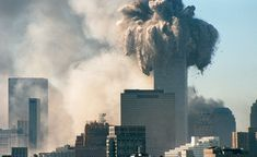 September AM. The North Tower of the World Trade Centre in New York collapsed. Trade Centre, World Trade Center, 11 September 2001, North Tower, Willis Tower, Seattle Skyline, Professor, Liverpool, Travel