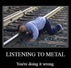 One way to lose ur head listening to heavy metal.www.facebook.com/calmthesoul.ie