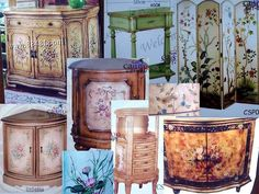 Image detail for -Hand Painted Furniture, Cabinet,able,chair,sofa,chest, Screen, Console ...