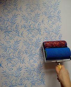 Wanddeko - Musterwalzen Set - ein Designerstück von Tapet-Show bei DaWanda