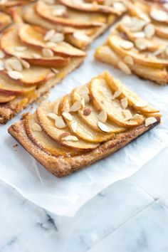 This Apple Tart is super easy to make.